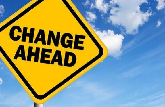 Change is bittersweet…